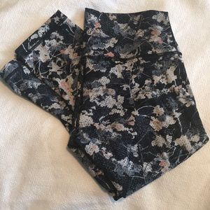 Lululemon Wunder Under Crops EUC